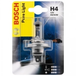 Лампа галогеновая  Н4 12-60/53  BOSCH Pure light