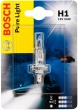 Лампа галогеновая  H1 12-55  BOSCH Pure light
