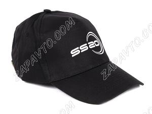 Кепка черная с логотипом SS20