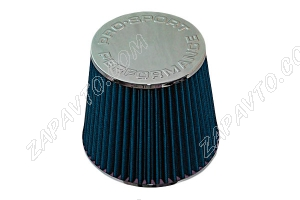 Фильтр воздушный нулевого сопротивления Pro.Sport Flow синий хром закрытый