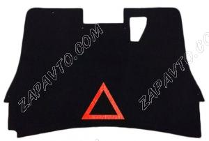 Обивка крышки багажника 2190 Гранта (с аварийным знаком, с ручкой багажника, ворс)