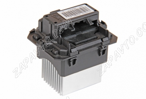 Резистор электровентилятора отопителя Ларгус (под кондиционер) Valeo