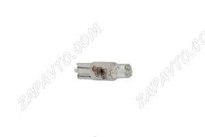Светодиод - Т5 12 V LED LAMP белый (панель приборов,без/цок.)