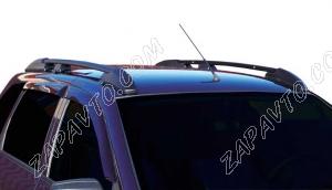 Ложементы багажника (рейлинги) 1117 Калина универсал (черные) Vamer