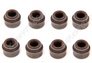 Колпачки маслоотражательные Ларгус, Renault Duster 8 клапанные (8шт) 8200234651