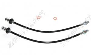 """Шланги тормозные передние (армированные) 2108-2170, 1117-1119, 2123, 2190 """"AST""""  00166-St"""