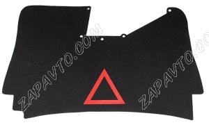 Обивка крышки багажника 2170 Приора (с аварийным знаком, ворс)
