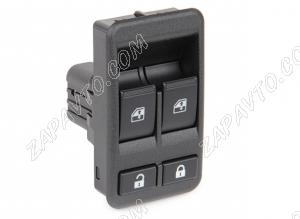 Блок кнопок управления стеклоподъемниками 2192, Калина 2 (без джойстика 2 кнопки) 2192-3709810