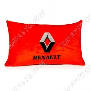 Подушка декоративная RENAULT (красная)