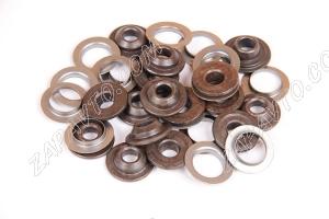 Тарелки, шайбы опорные пружины клапана 2112 (16пар) А151