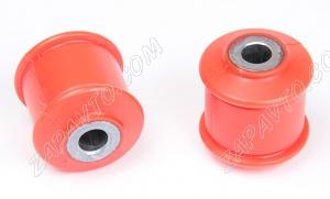 Сайлентблок заднего амортизатора 2108 С.П.Б (полиуретан, красный) 2шт.  VZ-1-1-106-80