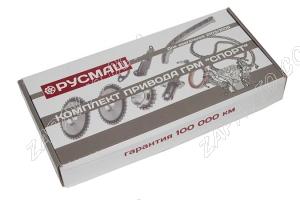 К-т для ремонта привода ГРМ 2103-2106, 2121 Sport (однорядная цепь, звездочки, башмак, натяж. Родос)