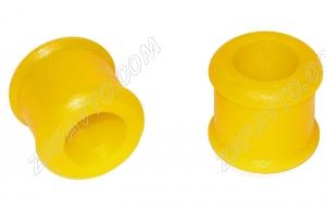 Втулка стойки стабилизатора верхняя 1118, 2170 С.П.Б.(20мм) С.П.Б. (желтая) 2 шт. VZ-1-0-101-65