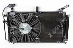 Радиатор 1118 Калина под кондиционер (в сборе) Panasonic