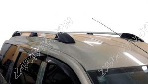 Ложементы багажника (рейлинги) Ларгус (серебристые) Vamer