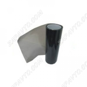 Пленка автомобильная, для фар (черная броня, 180 мкр) ширина 30 см (в рулоне10м)