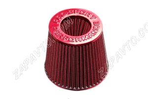 Фильтр воздушный нулевого сопротивления Pro.Sport Mega Flow красный-карбон