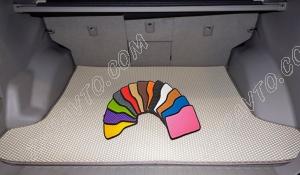 Коврики багажника Ларгус (5 мест) 2013- EVA