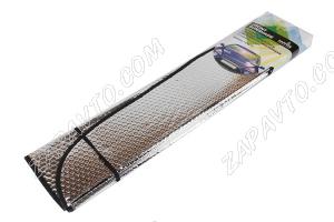 Защита от солнца на лобовое стекло (ширина 140см., высота 70см., универсальная)