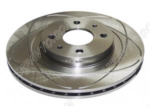 Диск тормозной передний 2112 вентилируемый R14 (евро) АЛНАС (2шт)