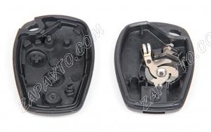 Корпус ключа зажигания Ларгус, Renault (резиновые кнопки) оригинал