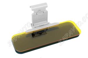 Козырек солнцезащитный HD VISOR (насадка-люкс) с фильтром для дневного и ночного вождения