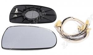 Элементы зеркал 1118 Калина с/о (обогрев,нейтр.антиблик,+жгут) ТЮН-АВТО на зеркала ДААЗ