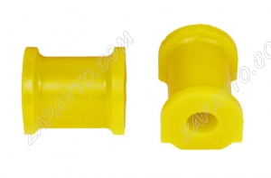 Втулка штанги стабилизатора 2108 (15мм) С.П.Б. (желтые, полиуретан) 2 шт. VZ-2-0-103-65