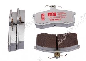 Колодки тормозные передние 2108-2110, Калина, Приора, Гранта Master Sport Keramik (4шт)
