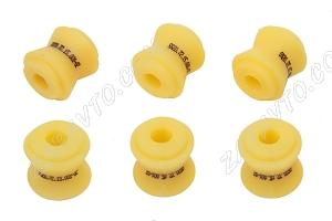 Втулка реактивной тяги (малая) 2101-2107 SS20 (полиуретан, желтая) в упаковке 6шт  70124