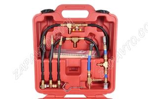 Набор для измерения давления системы впрыска топлива бензиновых двигателей (манометр)