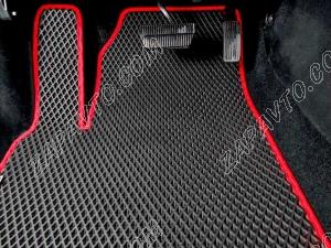 Коврики салона Chevrolet Captiva 7 мест 2011- EVA 4шт.