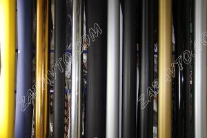 Пленка автомобильная (алюминий шлифованный, светло-серый) ширина 1м 40 см (в рулоне30м)