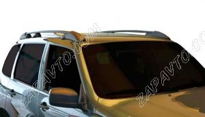 Ложементы багажника (рейлинги) 2123 Шевроле Нива (черные) Vamer
