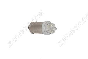 Светодиод - Т8 12 V LED LAMP 4 диода (габариты)