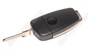 Ключ замка зажигания Ларгус выкидной, без платы, по типу Audi эконом