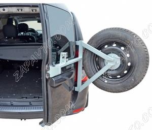 Кронштейн запасного колеса Ларгус на дверные петли
