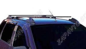 Ложементы багажника (рейлинги) 1117 Калина универсал с поперечинами (серебристые) Vamer
