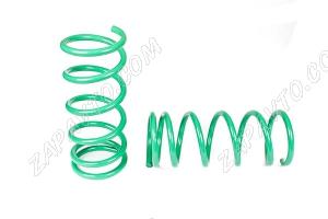 Пружины передней подвески 2101 ТЕХНО РЕССОР (зеленые -70мм) 2шт