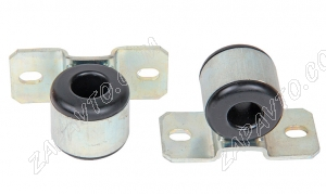Втулка штанги стабилизатора с кронштейном Гранта люкс, Калина 2 (тюнинг, резин., 24мм) 2шт.