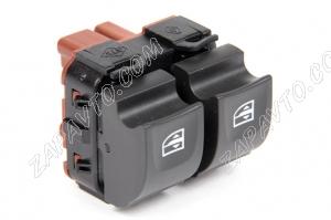 Переключатель стеклоподъемников в блок кнопок (2кн) Xray, Renault Sandero Stepwey2, Megane3, Fluence