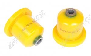 Сайлентблок заднего рычага 2110, 2170,1118 SS20 (полиуретан, желтый) в упаковке 2шт  70111