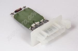 Резистор электровентилятора отопителя Ларгус (без кондиционера) Valeo