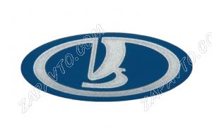 Эмблема на колесо рулевое 1118 Калина (синяя)