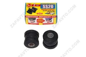 Сайлентблок амортизатора переднего 2101, 21214, 2123 SS20 (черный) 2шт 60101