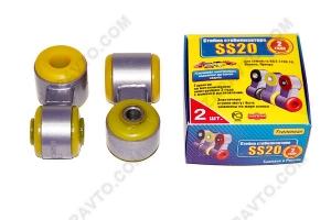 Стойки стабилизатора в сборе 2110 SS20 (полиуретан, желтые) 2шт  40106