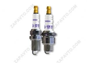 Свеча зажигания BRISK Silver DR15YS-9 16кл. инжектор (газоборудование) (Чехия)