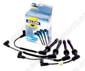 Провода высоковольтные Chevrolet Aveo, Lanos (1.4-1.5L 8v) SLON (в упаковке)
