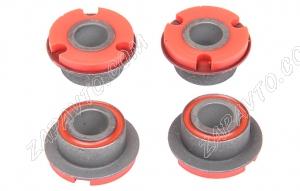 Сайлентблок растяжки 2108 С.П.Б (полиуретан, красный) 4шт.  VZ-1-2-101-80