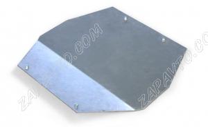 Защита двигателя алюминиевая для подрамника 1118, 2190, Datsun АВТОПРОДУКТ